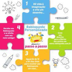 Transforme os desenhos de suas crianças em realidade! Crie seu Rabisquedo personalizado em: www.rabisquedo.com.br