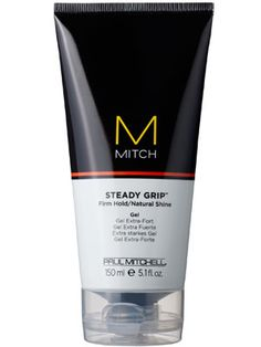 This strong-hold gel from Paul Mitchell's men's line is great for quickly defining a part or slicking back a ponytail.
