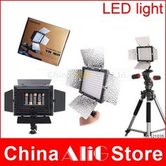 59.99$  Buy now - http://alirg1.worldwells.pw/go.php?t=857378122 - DSLR camera camcorder flash led video light YN160 III for D610 D800 D7100 700D 6D 7DII 7D 5DIII photography studio lighting