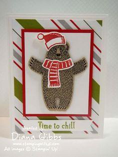 Bear Hugs Snow Play Diana Gibbs Stampin' up!