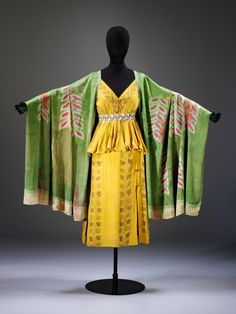 """Léon Bakst, Costume for a Nymph from """"Narcissus,"""" 1911, painted cotton, V&A, London Photo © Victoria and Albert Museum, London"""