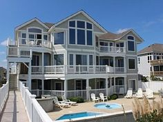 Stunning+Oceanfront+9+Bedrooms+11+Bathrooms+with+Virtually+Every+Amenity+Corolla+Pine+Island+North+Carolina+++Vacation Rental in Corolla from @homeaway! #vacation #rental #travel #homeaway