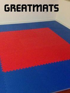"""10/' x 10/' x 1 5//8/"""" PURPLE WRESTLING MAT MMA ROLL OUT MAT PILATES GYMNASTICS MAT"""