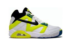 buy online bc3c2 b3fba Air Tech Challenge III Year Introduced 1990 More neon! The Air Tech  Challenge III