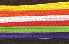 100 kusů slabých barevných chlupatých drátků.  Rozměr: délka 15 cm, průměr 3 mm. Shopping