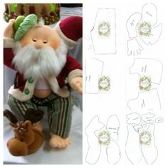Powered by APG vNext Trial - duende navidad ,de la webPattern for cloth elf doll (in Hungarian, but you can easily figure it out).Things to make :) elf Ragdoll pattern free /Christmas decorated with felt padslike his tool apron Christmas Crafts For Gifts, Christmas Sewing, Felt Christmas, Christmas Decorations, Christmas Ornaments, Felt Crafts, Diy And Crafts, Sewing Crafts, Sewing Projects