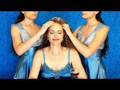 ASMR Scalp Massage & Whispering ♥ Guided Meditation for Relaxation & Sleep, Ear to Ear Whisper - YouTube