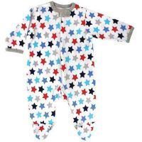 Luvable Friends Sleep n Play Romper - Blue Stars Reduced to $28.95 for a limited time*. Follow the link to buy it instore at http://www.mamadoo.com.au/baby-clothes/baby-sleepwear/baby-girl-sleepwear/ #mamadoo #baby #girls #sleepwear #fashion #cuteas #minifashionista #wraps #pyjamas #romper #sleepsuit #sleepingbag
