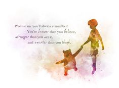 * Available in sizes 7 x 5 inches — x 127 mm) 10 x 8 inches — x 203 mm) x inches — mm x 210 mm) For Sale Direct From Artist Original Art Winnie The Pooh Quote Illustration created using mixed media and a modern design Promise me, … Christopher Robin Quotes, Disney Christopher Robin, The Words, Silhouette Designer Edition, Mom Quotes, Life Quotes, Dream Quotes, Baby Quotes, Reality Quotes