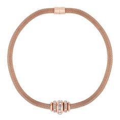 Betty Jackson.Black Designer crystal ring set rose gold necklace   Debenhams