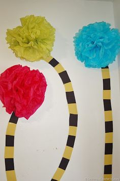 """Dr. Seuss Truffulla Trees- """"Oh, the places you'll go"""" theme"""
