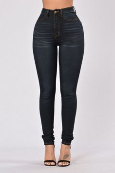 ORDER a 13 ) I returned the 11) Fashion Nova Keep It On The Hush Jeans - Dark