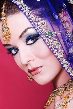 {Bridal & Beauty Shots by Shahid Malik} | South Asian Bride Magazine