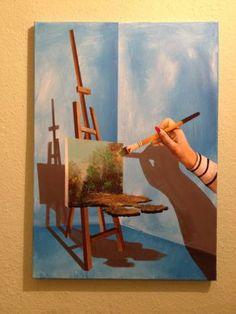 "Saatchi Art Artist Eka Peradze; Painting, ""SOLD.Nature. #135 - 50x70cm. 3D"" #art"