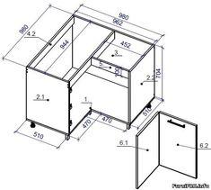 Kitchen Cabinets Drawing, Kitchen Cabinet Sizes, Building Kitchen Cabinets, Luxury Kitchen Design, Outdoor Kitchen Design, House Structure Design, Tv Unit Interior Design, Kitchen Layout Plans, Latest Kitchen Designs