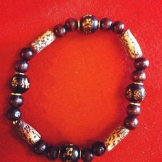 Indian bead bracelet