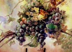 Michael Turner Porcelain - grapes