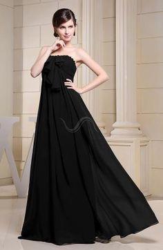 Chiffon Strapless Evening Dress - Order Link: http://www.theweddingdresses.com/chiffon-strapless-evening-dress-twdn6791.html - Embellishments: Ruching; Length: Floor Length; Fabric: Chiffon; Waist: Empire - Price: 133.99USD