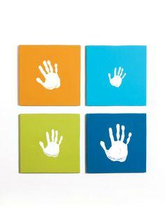 cute handprint idea