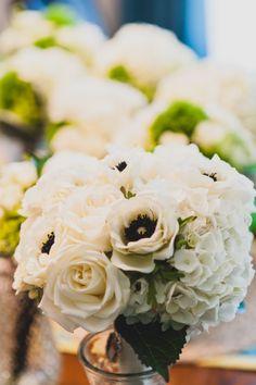 Anemone bridal bouquet.