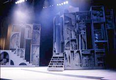 Macbeth  Set designed by William J. Eckart