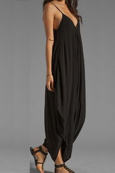 Boho Chic Sleeveless Loose Fit Jumpsuit