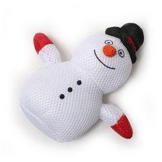 Mesh Snowman Toy