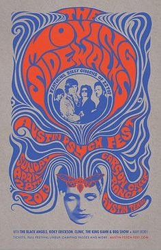 agoodlook1304: The Moving Sidewalks poster