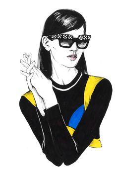 Fashion illustration. Part 4. on Behance