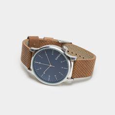 Komono Winston Watch - Blue Cognac Watch by Komono - Cool Material - 1