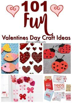101 Fun Valentines Day Craft Ideas