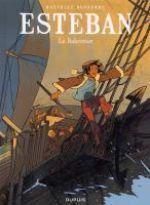 Esteban est un jeune indien de 12 ans qui vient de perdre sa mère. Il cherche par tous les moyens à embarquer à bord du « Léviathan », un colossal baleinier à voiles. Il propose au capitaine à qui il manque un œil, ses talents de harponneur.  Son culot pousse le capitaine moqueur à l' engager comme mousse.