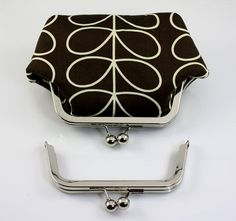 6 x 2 inches 15 x 5 cm  Silver Clutch Purse Frame  by BAGSupplier, $3.90