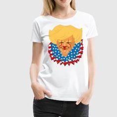 Horrorpolitics - Damen T-Shirt Weiß