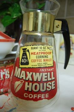 69b54fe8cdcf was free when you bought a carafe full of Maxwell Instant Coffee.was the  only kind we drank in the mid