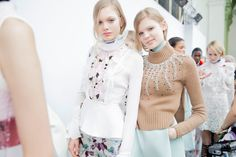 Giambattista Valli Fall 2015 RTW Backstage – Vogue
