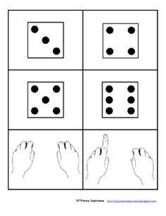 Number Sense Cards - dominoes, finger-counting, words, numerals, tallies and coins