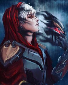 League of Legends artwork from http://www.edibleinkphotopaper.com Zed :O