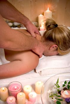 ✿ Massage   mmmmm how i want a full body massage that lasts for two hours, is there anybody that does that? lol