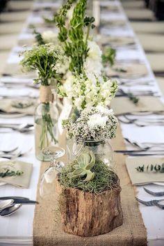 18 Rustic Wedding Decor Photos For Gorgeous Ceremony ❤ See more: http://www.weddingforward.com/rustic-wedding-decor/ #weddings #rustic