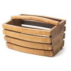 Used Wine Oak Barrel Stave Basket (used in wine production 2-5 years)
