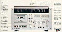 Vintage audio Cassette Tape deck AKAI Ad