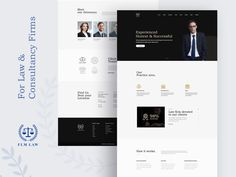 Law & Consultancy firms Website Design by dotpixel-agency