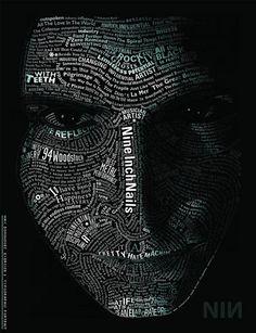 100 Amazing Typographic Portraits - 39 - Pelfind