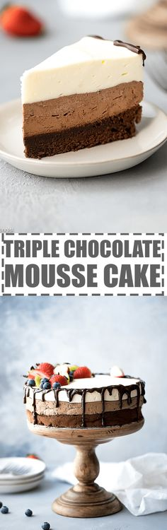 This triple chocolat