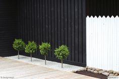 Rakensimme takapihalle ison terassin kesällä. Tässä tulos!. . Terassikelejä odotellaan taas! . Jälkeen. Ennen. Varaston kulma jälkeen Garden Yard Ideas, Terrace Garden, Fence Ideas, Patio Ideas, Backyard Ideas, Fence Design, Garden Design, Landscape Design, Pergola