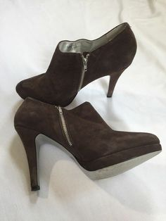 f83a4753973 Jessica Simpson Hampton Booties Stiletto Black Suede High Heel Zipper Size  Condition is Pre-owned. Well Taken Care Of ~Slightly Worn ~ Size  Ask  Questions ...