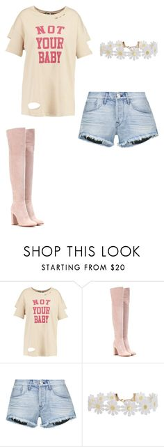 """""""Untitled #174"""" by iambeickyg on Polyvore featuring Boohoo, Gianvito Rossi, 3x1 and Humble Chic"""