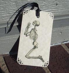 Skeleton Gothic Gift Tags
