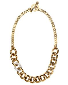 Juicy Couture | Pave Link Necklace